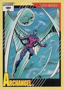 Warren Worthington III (Earth-616) from Marvel Universe Cards Series II 0001