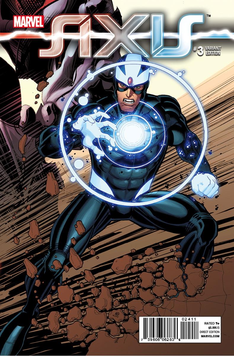 Avengers X Men AXIS Vol 1 3 Bradshaw Variant