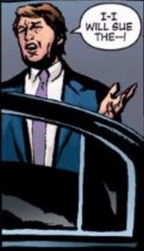 Donald Trump (Earth-616) from New Avengers Vol 1 47