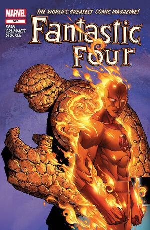 Fantastic Four Vol 1 526