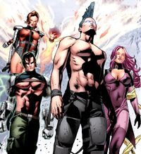 Force Warriors (Earth-11326) from X-Men Legacy Vol 1 245 0001