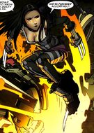Laura Kinney (Earth-616) from X-Men To Serve and Protect Vol 1 2 0001