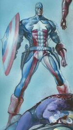 Steven Rogers (Earth-12091) from Space Punisher Vol 1 4 0001