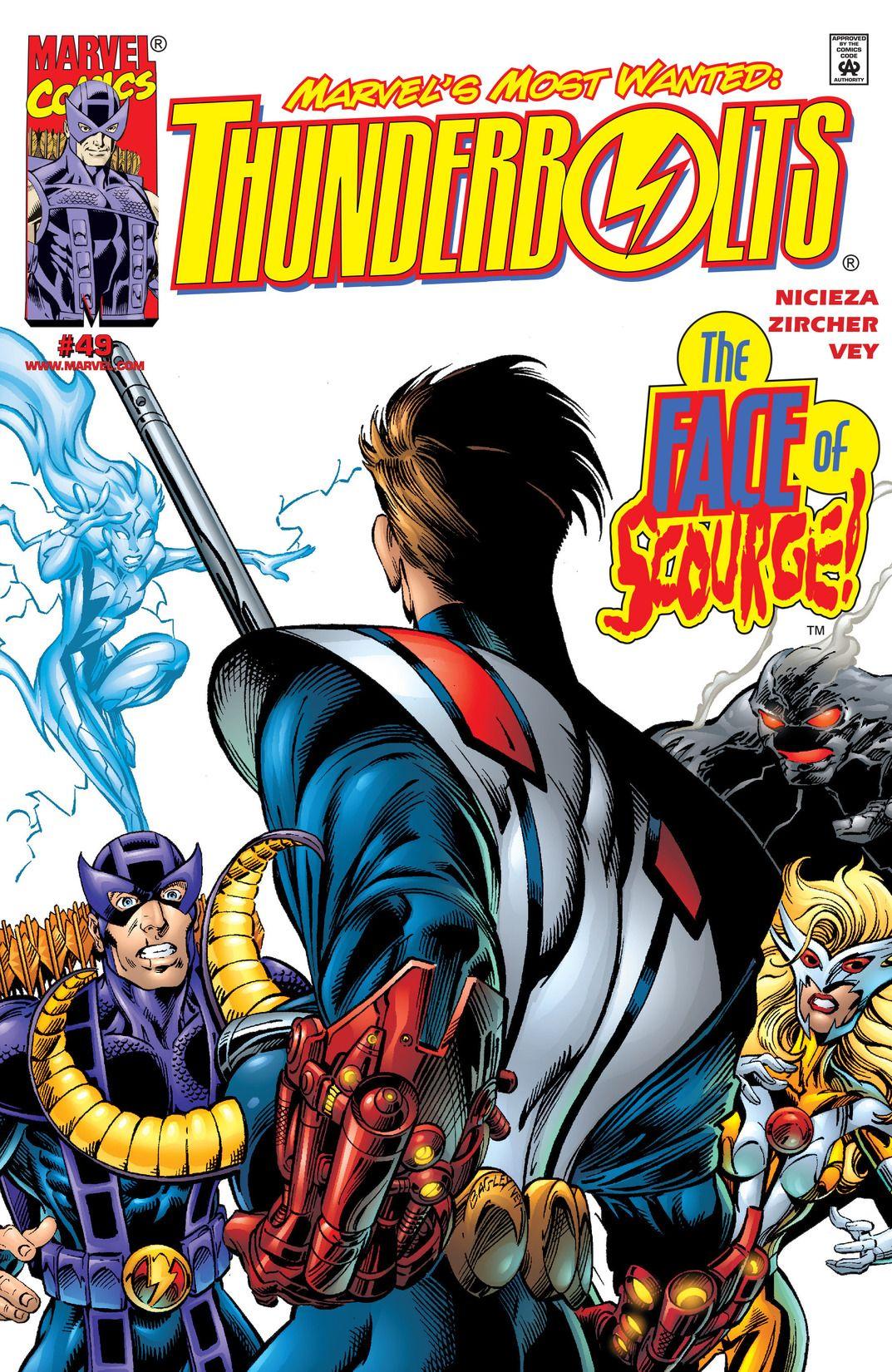 Thunderbolts #126 Marvel Comics 1st Series 1997-2012