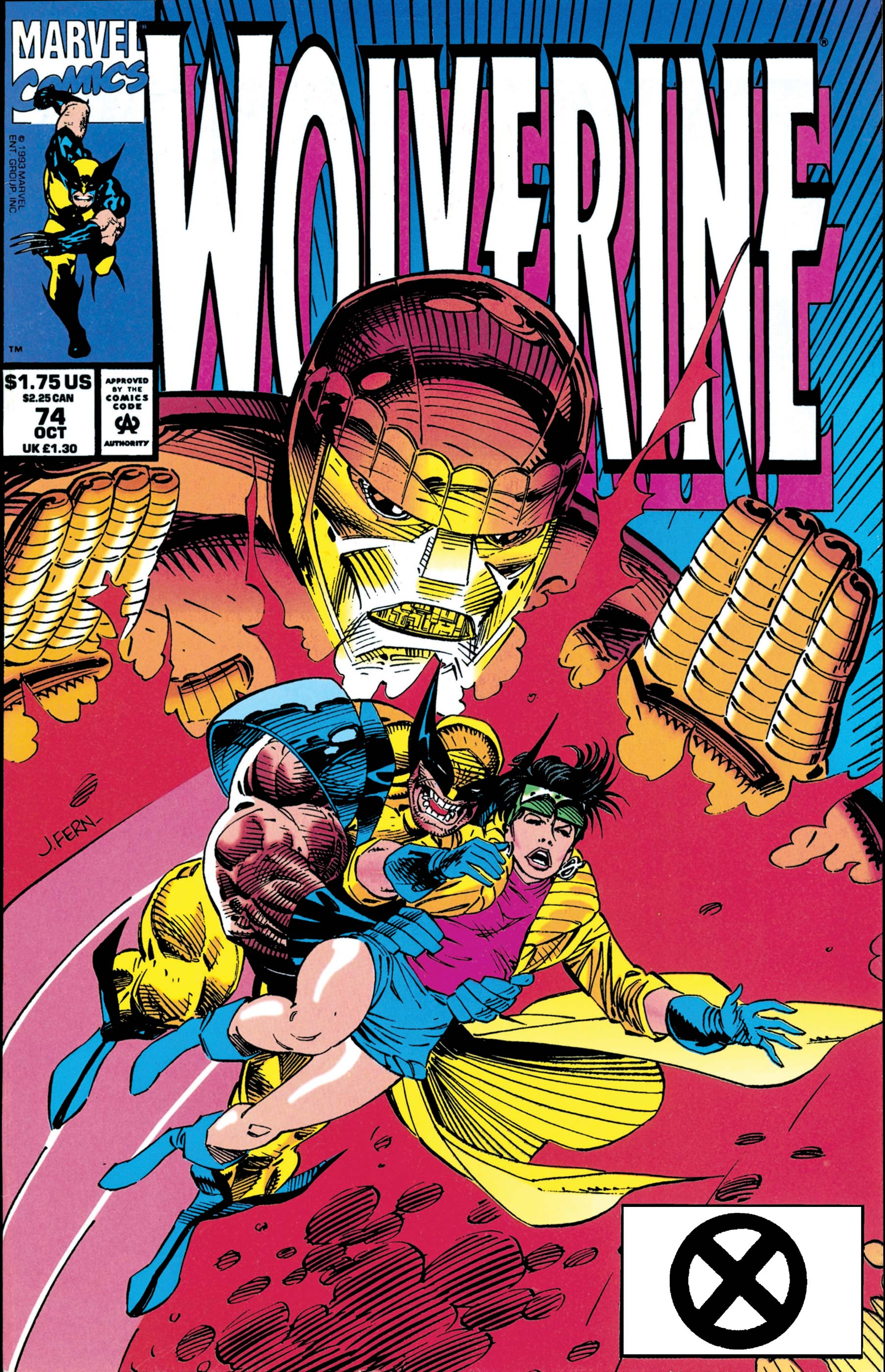 Image result for wolverine 74