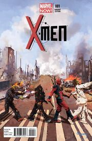 X-Men Vol 4 1 Deadpool Variant