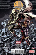 Age of Ultron Vol 1 2 Second Printing Variant
