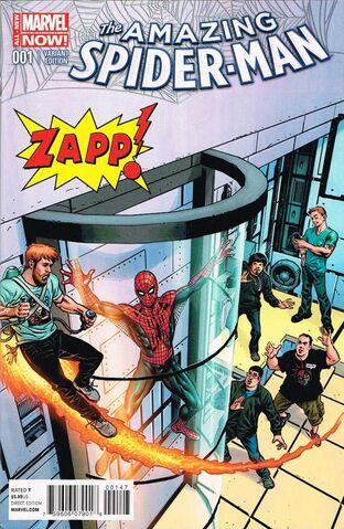 File:Amazing Spider-Man Vol 3 1 Zapp Comics Exclusive Variant.jpg