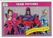 Brotherhood of Evil Mutants (Earth-616) from Marvel Universe Cards Series I 0001