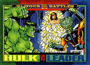 Bruce Banner (Earth-616) and Samuel Sterns (Earth-616) from Marvel Universe Cards Series IV 0001