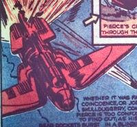 Comet Pierce's Rocket from Red Raven Comics Vol 1 1 0001