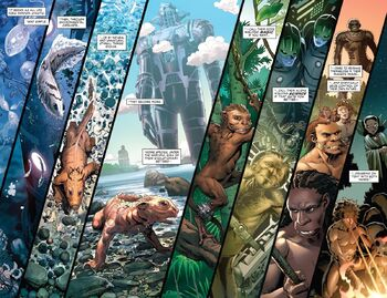 Evolution from S.H.I.E.L.D. by Hickman & Weaver Vol 1 6