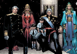 Family Magnus (Earth-58163) from House of M Vol 1 6 001