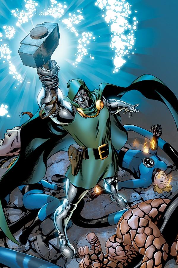 Marvel Super heroes Dr Doom W//t Death Cannon figure US Seller FF