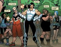 Freelancers (Earth-616) from Champions Vol 2 1.MU 001