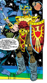 Heimdall (Earth-691) from Galactic Guardians Vol 1 1 0001