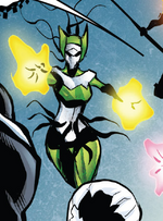 Hive (Poisons) (Earth-17952) Members-Poison Enchantress from Venomverse Vol 1 3 001