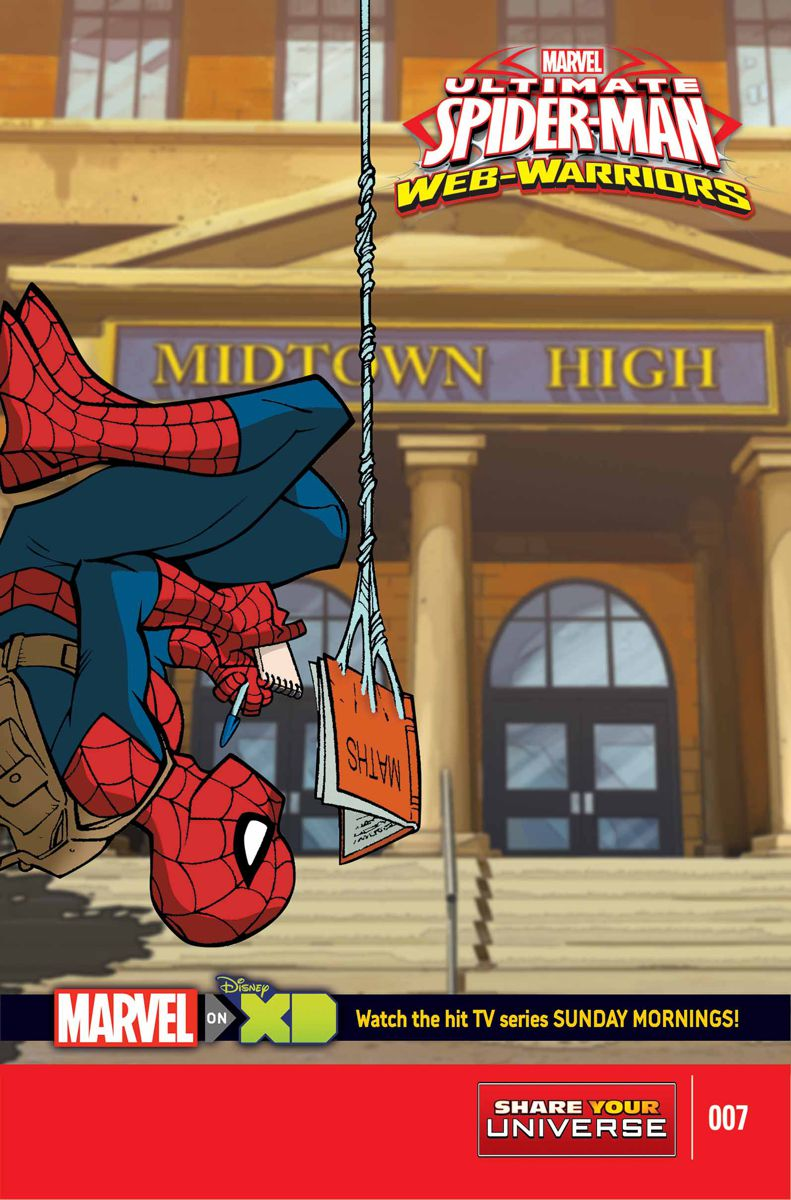 Marvel Universe Ultimate Spider-Man: Web Warriors Vol 1 7 | Marvel ...