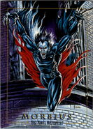 Michael Morbius (Earth-616) from Marvel Masterpieces Trading Cards 1992 0001