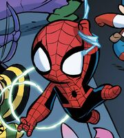 Peter Parker (Earth-71912) from A-Babies vs. X-Babies Vol 1 1 001