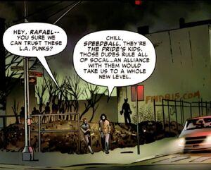Rafael Vega (Earth-58163) and Robert Baldwin (Earth-58163) from House of M Avengers Vol 1 4 001