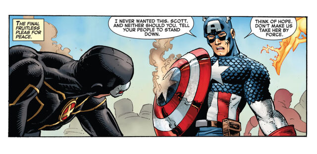 File:Scott Summers (Earth-616) and Steven Rogers (Earth-616) from Avengers vs. X-Men Vol 1 2 0002.jpg