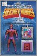 Secret Wars Vol 1 7 Action Figure Variant Textless