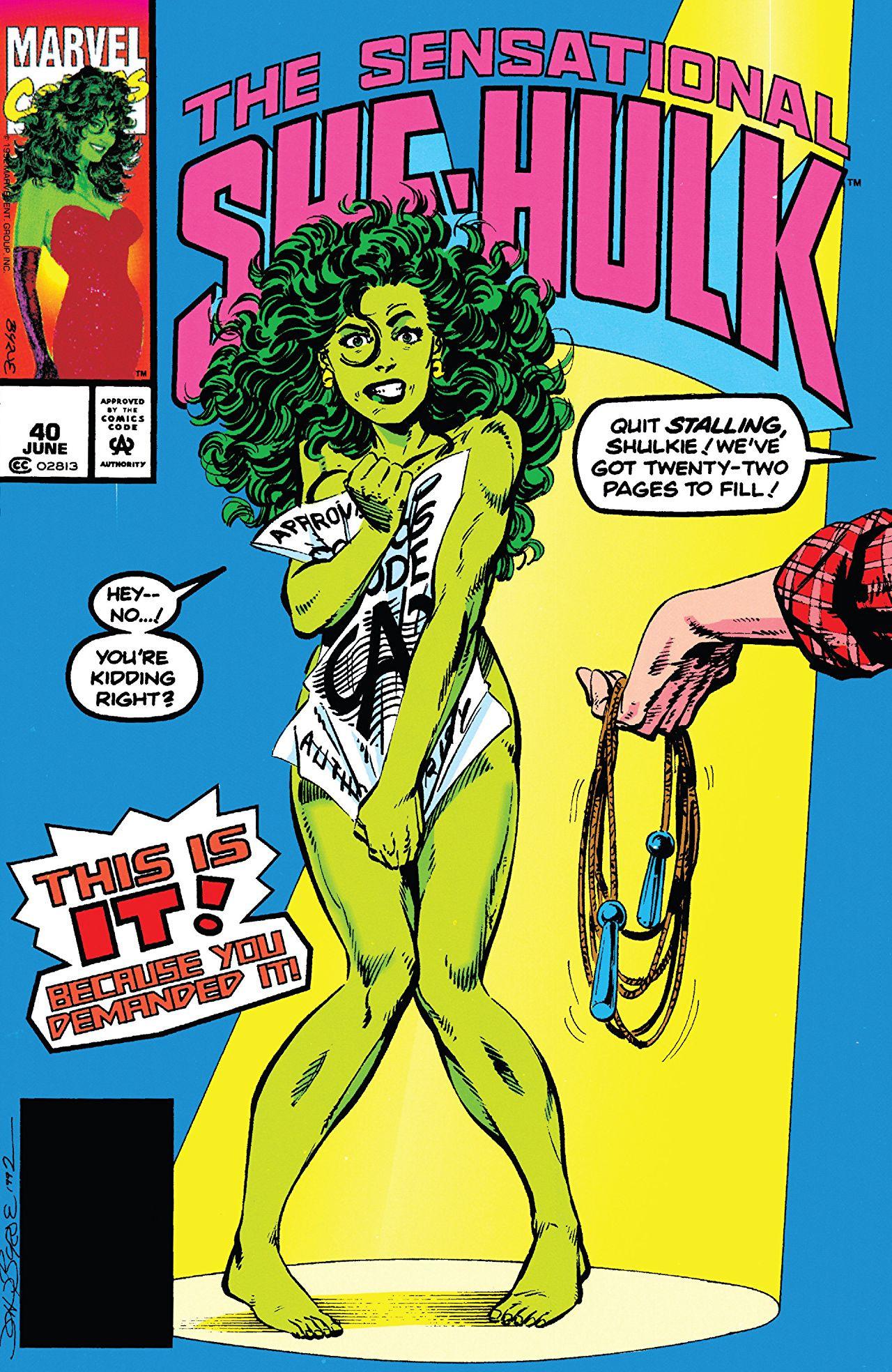 Sensational She-Hulk Vol 1 40