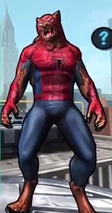 Werewolf Spider-Man (Peter Parker) from Spider-Man Unlimited (Video Game) 0001