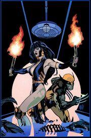 WildC.A.T.sX-Men Vol 1 The Modern Age Adam Hughes Variant Textless