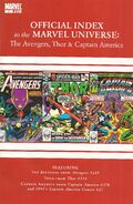 Avengers, Thor & Captain America Official Index to the Marvel Universe Vol 1 7