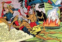 Bronze Savages (Earth-616) from U.S.A. Comics Vol 1 16 0001