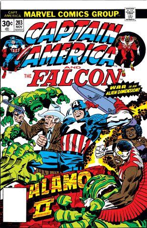Captain America Vol 1 203