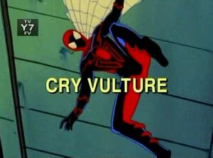 Cry Vulture Spider-Man Unlimited