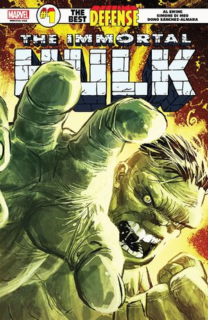 Immortal Hulk The Best Defense Vol 1 1