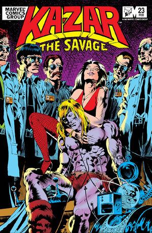 Ka-Zar the Savage Vol 1 23