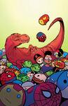 Moon Girl and Devil Dinosaur Vol 1 10 Marvel Tsum Tsum Takeover Variant Textless