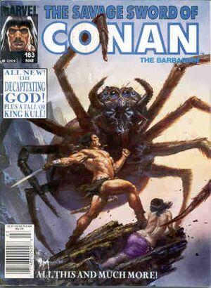 Savage Sword of Conan Vol 1 183