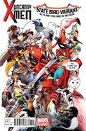 Uncanny X-Men Vol 3 1 Deadpool Variant