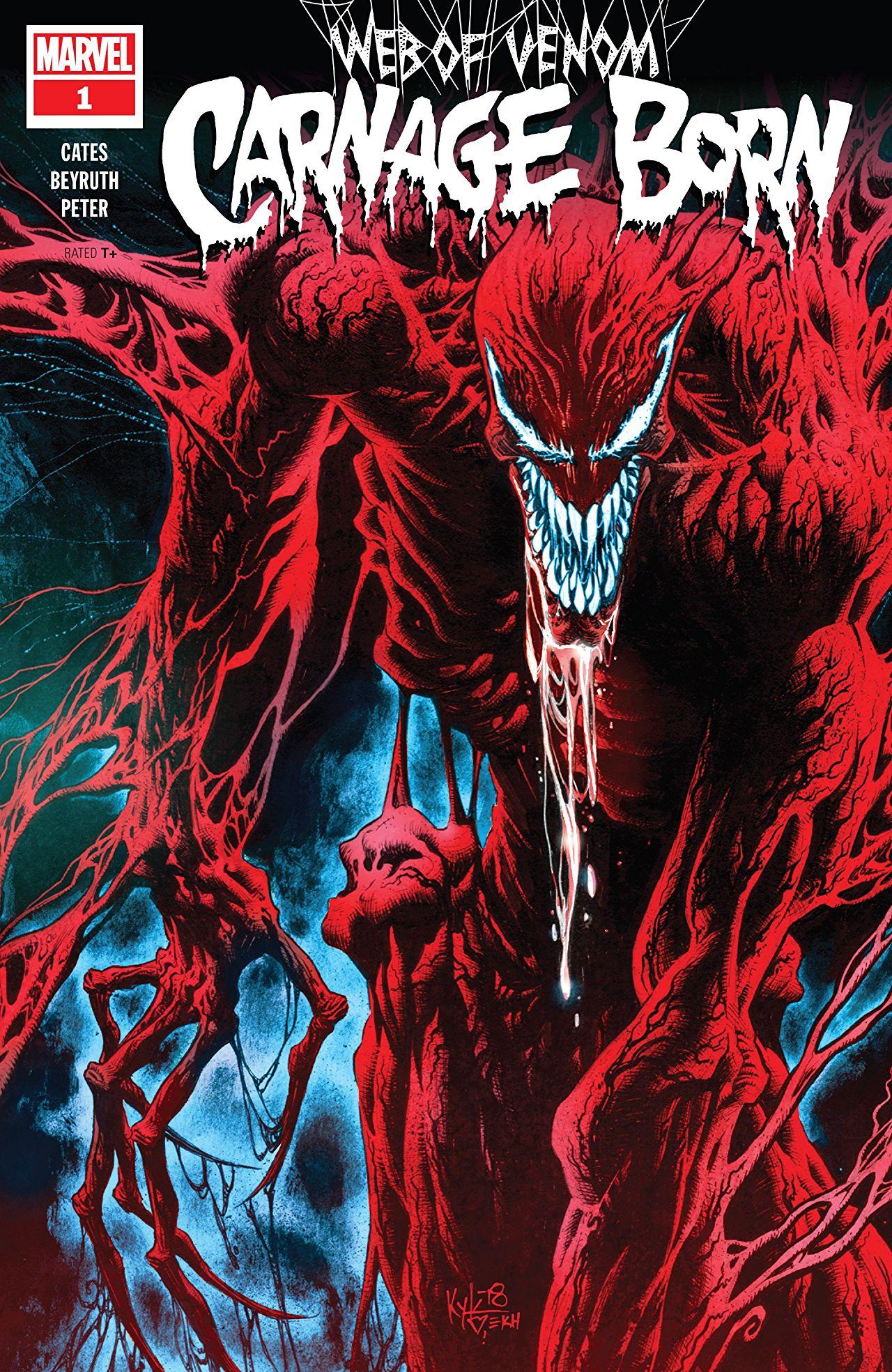 Web of Venom: Carnage Born Vol 1 1 | Marvel Database ...