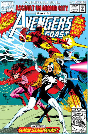 West Coast Avengers Annual Vol 2 7