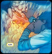 Alex Wilder (Earth-616) and Gibborim from Avengers Arena Vol 1 4 001
