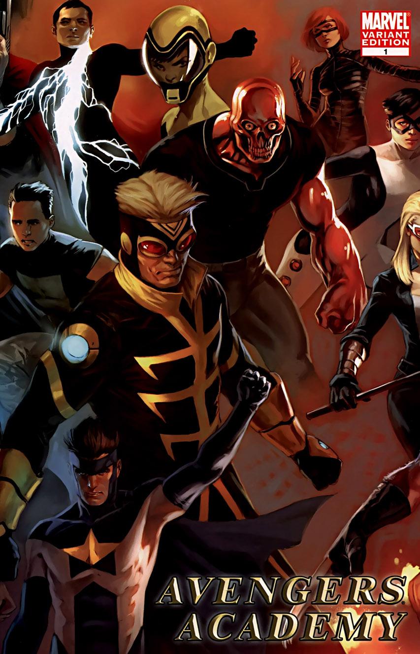 Avengers Academy Vol 1 1 Djurdjevic Variant.jpg