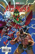 Avengers Vol 7 1 Pastrovicchio Variant