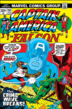 Captain America Vol 1 158