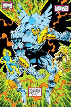 Hawk God (Earth-691) from Guardians of the Galaxy Vol 1 45 0001