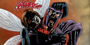 Janet Van Dyne (Earth-2149) and Max Eisenhardt (Earth-2149) from Marvel Zombies Vol 1 1 0001