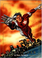 Jean-Paul Beaubier (Earth-616) from Marvel Masterpieces Trading Cards 1992 0001
