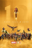 Marvel Studios The First 10 Years poster 001