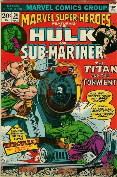 Marvel Super-Heroes Vol 1 34